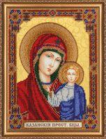 """Вышивка бисером """"Домашний иконостас. Богородица"""""""