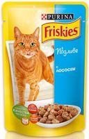 Пресервы для кошек (100 г; лосось в подливе)