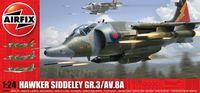 """Истребитель-бомбардировщик """"Hawker Siddeley GR.3/AV.8A"""" (масштаб: 1/24)"""