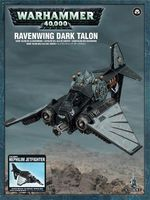 "Набор миниатюр ""Warhammer 40.000. Dark Angels Ravenwing Dark Talon/Nephilim Jetfigher"" (44-07)"