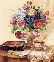 """Вышивка крестом """"Цветочный этюд"""" (арт. 1302)"""