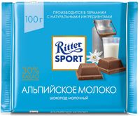 "Шоколад молочный ""Ritter Sport"" (100 г)"
