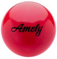 Мяч для художественной гимнастики AGB-101 (19 см; красный)