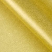 Бумага тишью (51х66 см; золотая; 10 шт.)