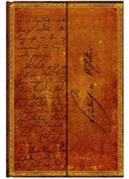 """Записная книжка в линейку """"Фридрих Шиллер. Письмо Гете"""" (А6)"""
