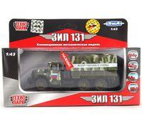 """Модель машины """"ЗИЛ 131. Вооруженные силы"""" (масштаб: 1/43; арт. CT10-001-21)"""
