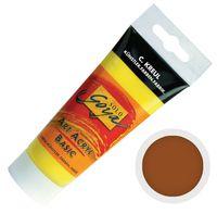"""Краска акриловая матовая """"Solo Goya Basic"""" 11 (100 мл; красно-коричневый)"""