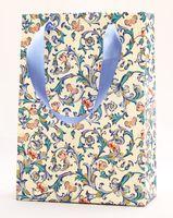 """Пакет бумажный подарочный """"Butterflies"""" (23,5х17х7 см)"""