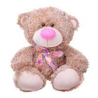 """Мягкая игрушка """"Медвежонок Ник"""" (34 см; бисквитный)"""