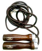Скакалка JRL-6252 (кожаная; облегченная; 2,75 м)