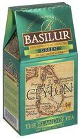 """Чай зеленый листовой """"Basilur. Green"""" (100 г)"""