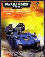 """Миниатюра """"Warhammer 40.000. Space Marine Whirlwind"""" (48-22)"""