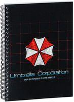 """Блокнот в клетку """"Обитель зла. Umbrella Corporation"""" A5 (арт. 424)"""