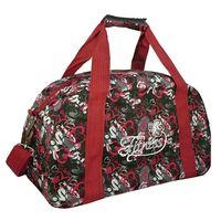 Спортивная сумка 5997 (красно-чёрная)