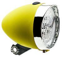 """Фонарь передний для велосипеда """"HW 160302"""" (жёлтый)"""