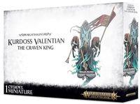 Warhammer Age of Sigmar. Nighthaunt. Kurdoss Valentian, the Craven King (91-24)