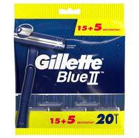 """Станок для бритья одноразовый """"Blue II"""" (20 шт.)"""