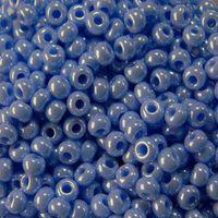 Бисер №38020 (голубой, Sfinx; 10/0)