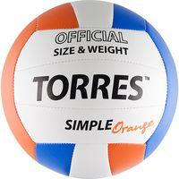"""Мяч волейбольный Torres """"Simple Orange"""" №5"""
