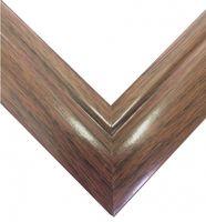 Рамка деревянная для картины по номерам (50х65 см; орех)