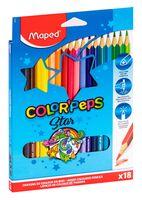 """Цветные карандаши """"Color Peps"""" (18 штук)"""
