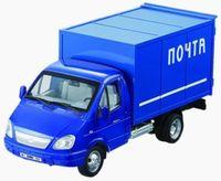 """Модель машины """"Почтовый грузовик"""" (масштаб: 1/16)"""