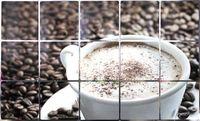 """Экран защитный кухонный """"Кофе"""" (45х75 см)"""