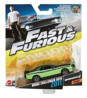 "Модель машины ""Fast&Furios. Dodge Challenger SRT8 2011"" (масштаб: 1/55)"