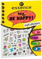 """Наклейки для дизайна ногтей """"Hey, be happy!"""" (тон: 05)"""