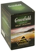 "Чай улун ""Greenfield. Milky Oolong"" (20 пакетиков)"