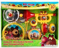 """Набор музыкальных инструментов """"Маша и Медведь"""" (арт. B817295-R2)"""
