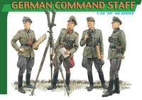 "Набор миниатюр ""German Command Staff"" (масштаб: 1/35)"