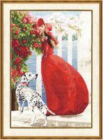 """Вышивка крестом """"Аромат роз"""" (390х280 мм)"""