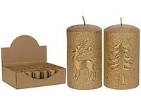Свеча декоративная (6х6х10 см)