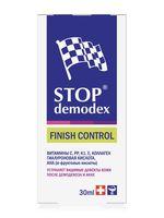 """Гель для лица точечного действия """"Stop Demodex Finish Control"""" (30 мл)"""