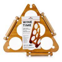 """Подставка для бутылок бамбуковая """"Wine Time"""" (360х170х310 мм)"""