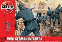 "Набор миниатюр ""Германская пехота WW.I"" (масштаб: 1/72)"