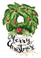 """Открытка """"Яна Поддубская. Merry Christmas"""" (арт. 1228)"""