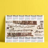 """Календарь настенный """"Гарри Поттер"""" (2018; арт. 15)"""