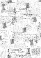 """Бумага для декупажа рисовая """"Почтовые открытки"""" (21х30 см)"""