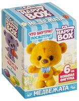 """Карамель с игрушкой """"Happy Box. Медвежата"""" (18 г)"""