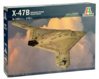 """Сборная модель """"Боевой беспилотный летательный аппарат X-47B"""" (масштаб: 1/72)"""