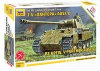 "Немецкий средний танк Pz.Kpfw V Panther Ausf. D (T-V ""Пантера"") (масштаб: 1/72)"