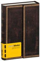 """Алфавитная книга Paperblanks """"Черная Марокканская кожа"""" (формат: 100*140 мм, мини)"""