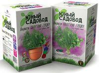 """Набор для выращивания растений """"Юный садовод. Салатная грядка"""""""