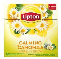"""Фиточай """"Lipton. С ромашкой и мятой"""" (20 пакетиков)"""