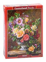 "Пазл ""Цветы в вазе"" (500 элементов)"