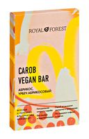 """Шоколад из кэроба """"Royal Forest. С абрикосом и урбечем из абрикоса"""" (50 г)"""