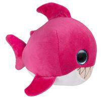 """Мягкая игрушка """"Глазастики. Акула"""" (16 см; розовый)"""