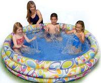 """Бассейн надувной детский """"Fun Dots Pool"""" (168х41 см)"""